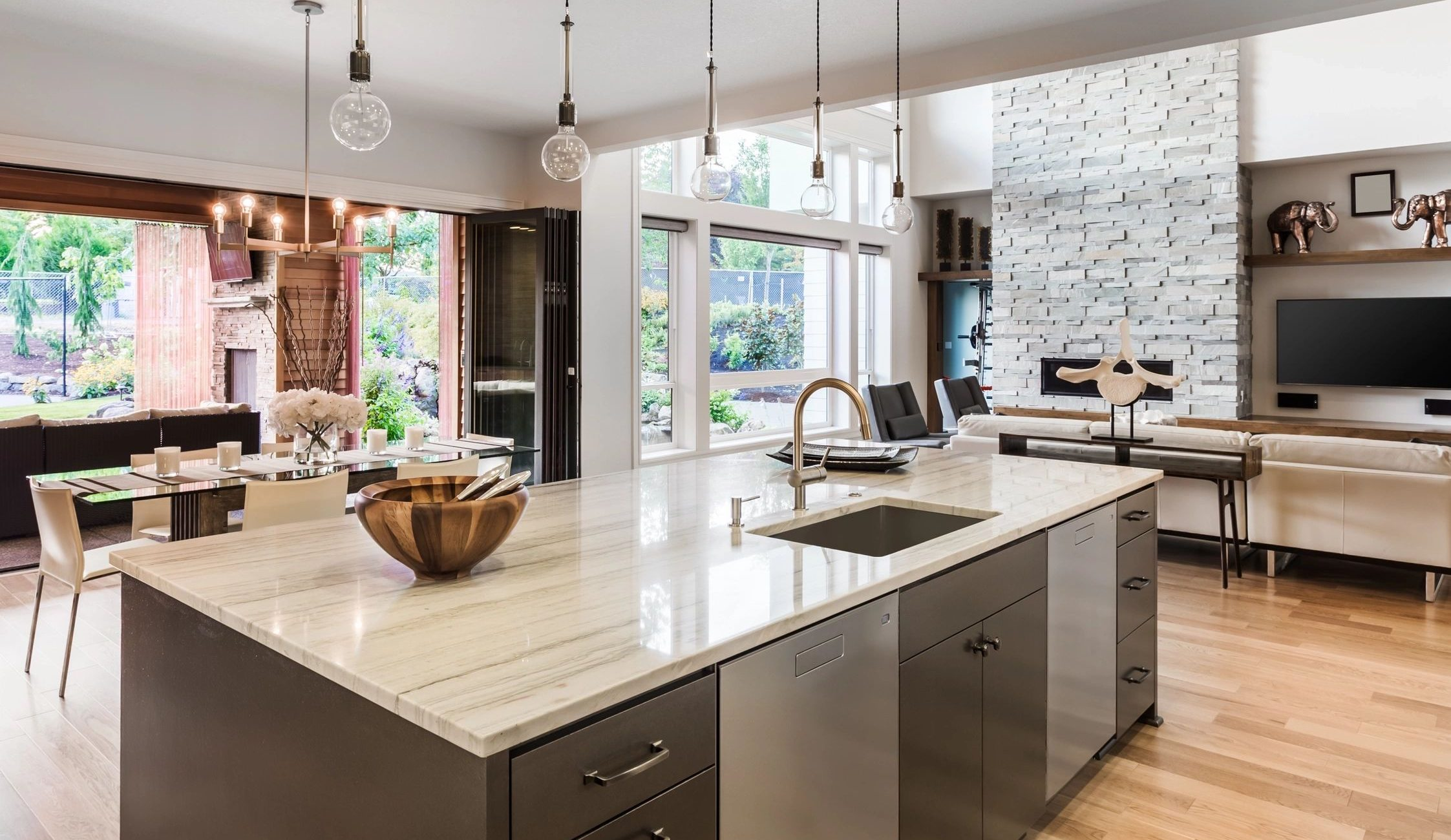 Residential Kitchen Leak Detection